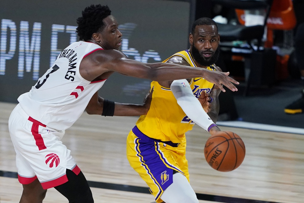 The Lakers Have Worst Shooting Night Of Season In 107 92 Loss To Toronto Raptors