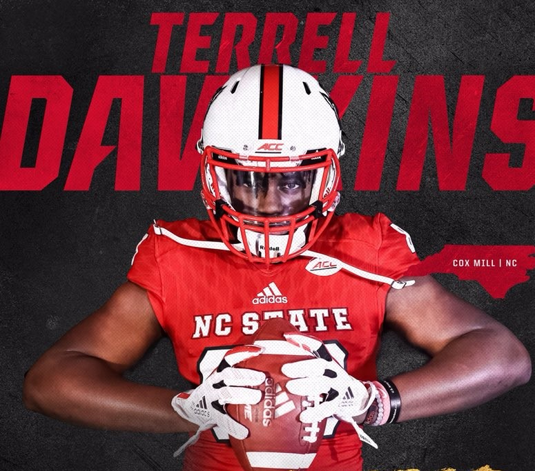 Terrell Dawkins First NC State Football Player to Wear No. 0