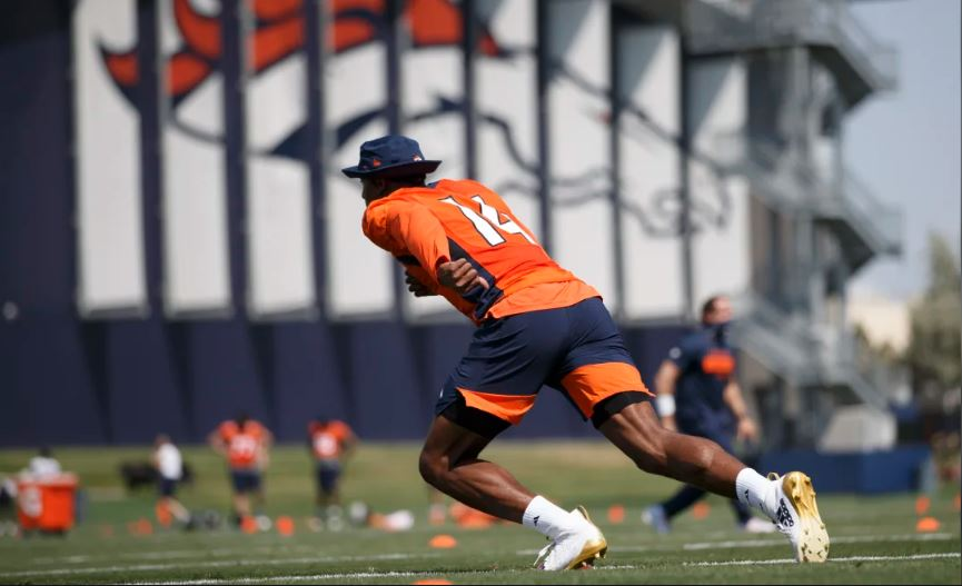 What Courtland Sutton Learned from Thomas, Sanders, he's Passing on to Broncos Rookie WRs
