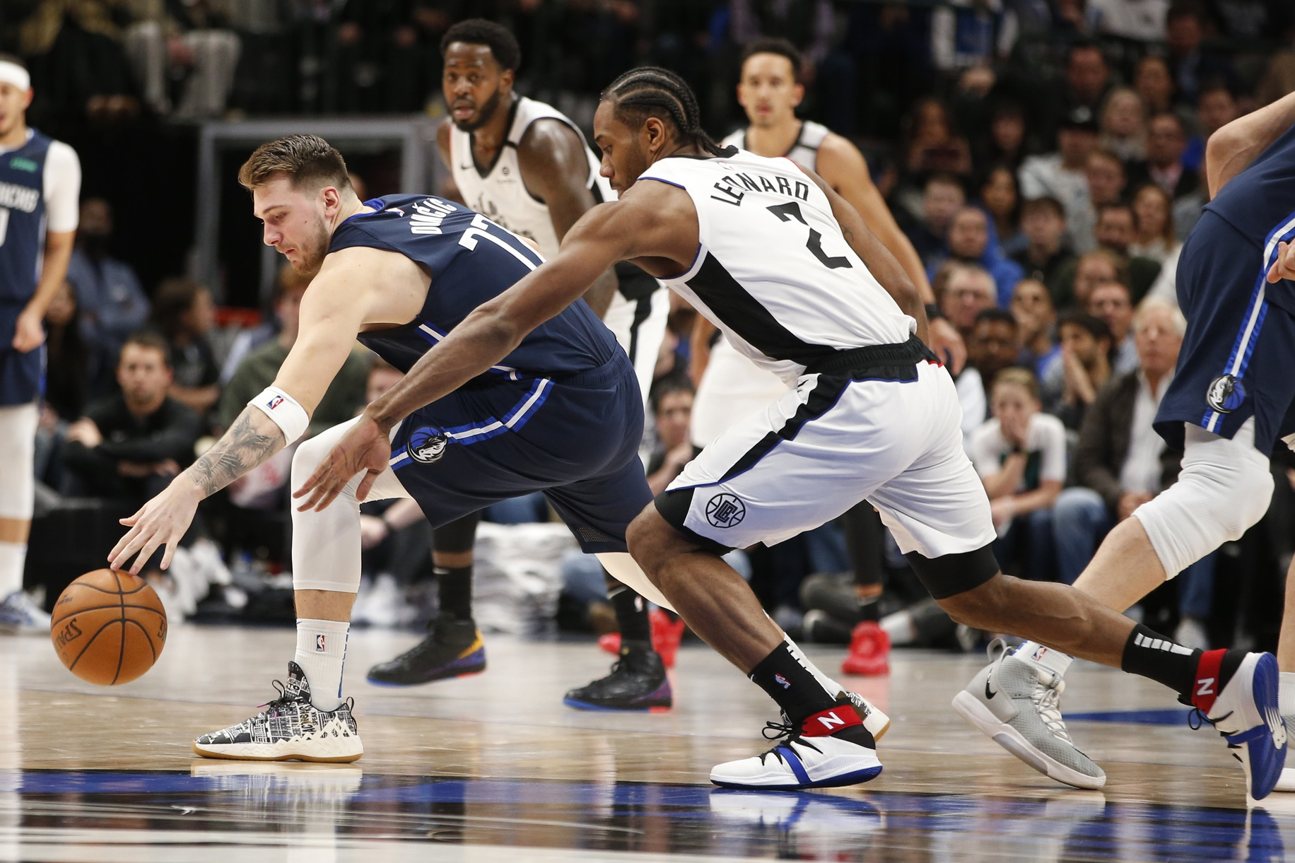 Mavs GAMEDAY: Can Doncic Upset Clippers? Beverley & Curry OUT