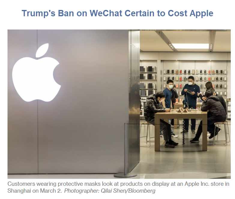 Trump's Tech War with China Could Cost Apple Dearly
