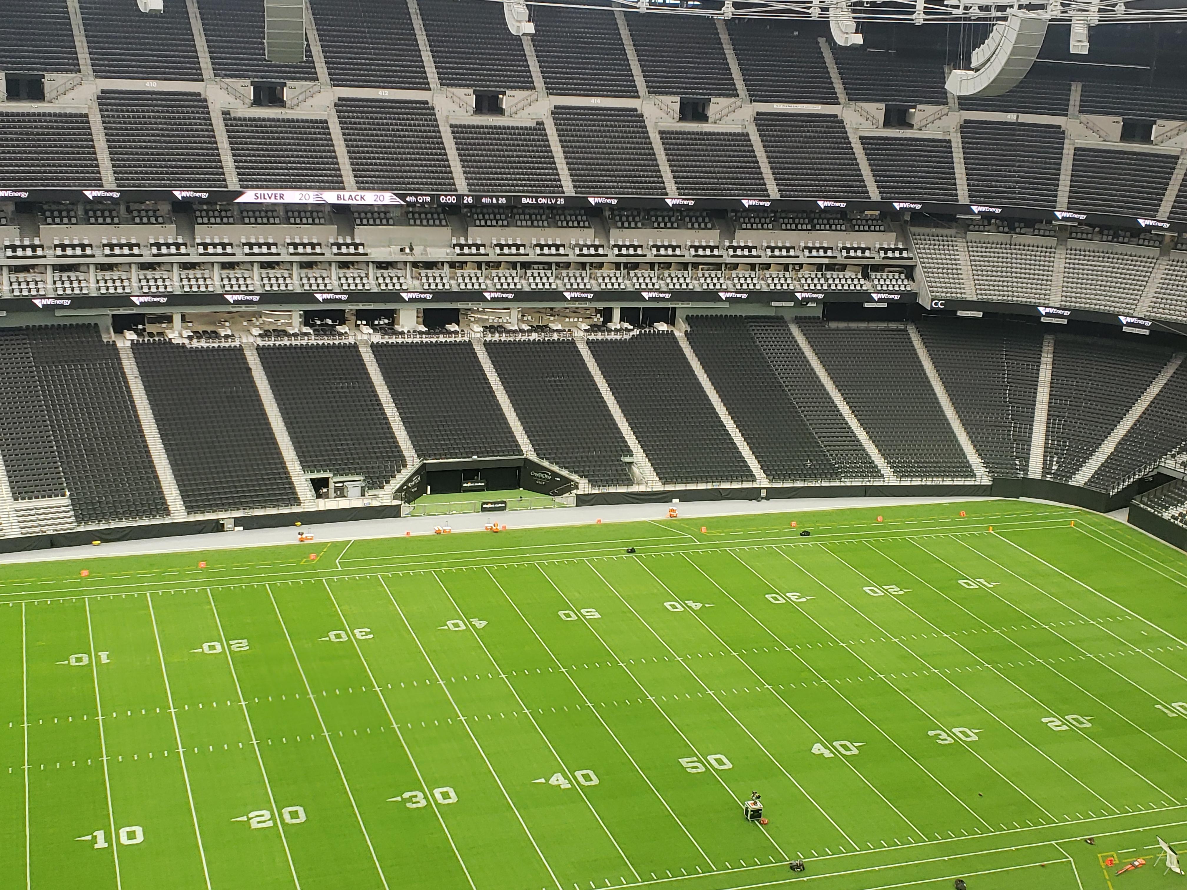 First Tour Of Las Vegas Raiders New Home Allegiant Stadium