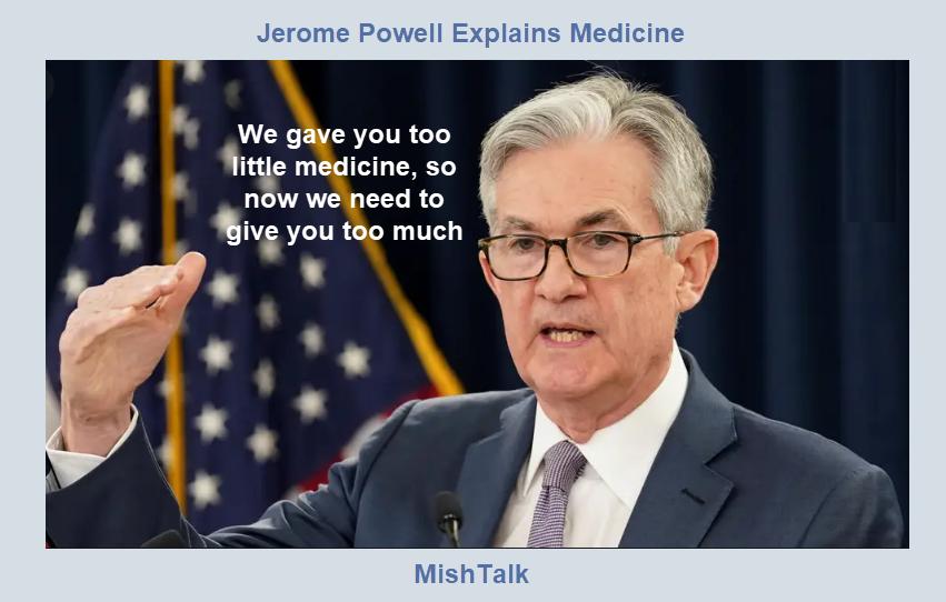 jerome powell explains medicine