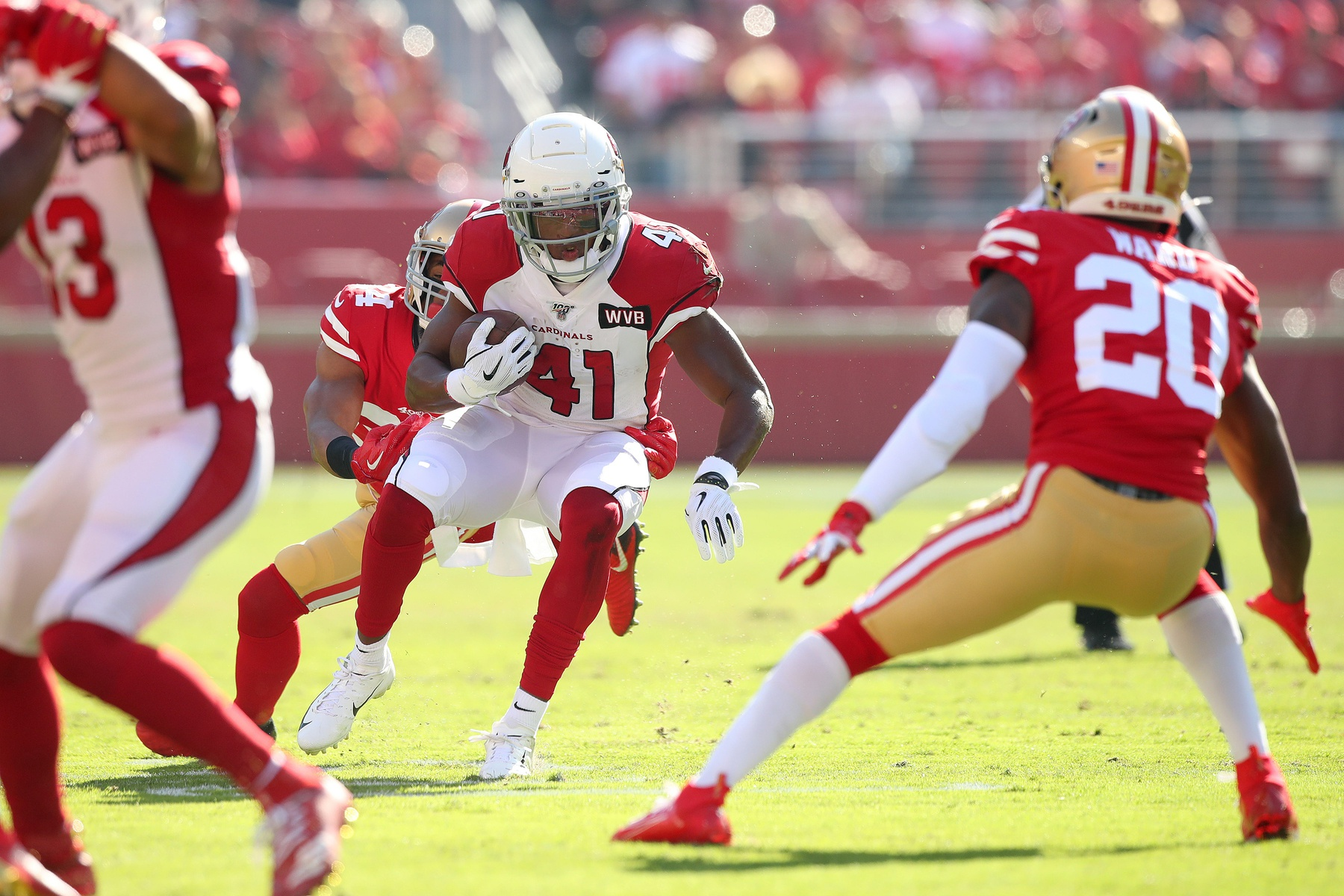 Cardinals Rb Kenyan Drake Is Good To Go