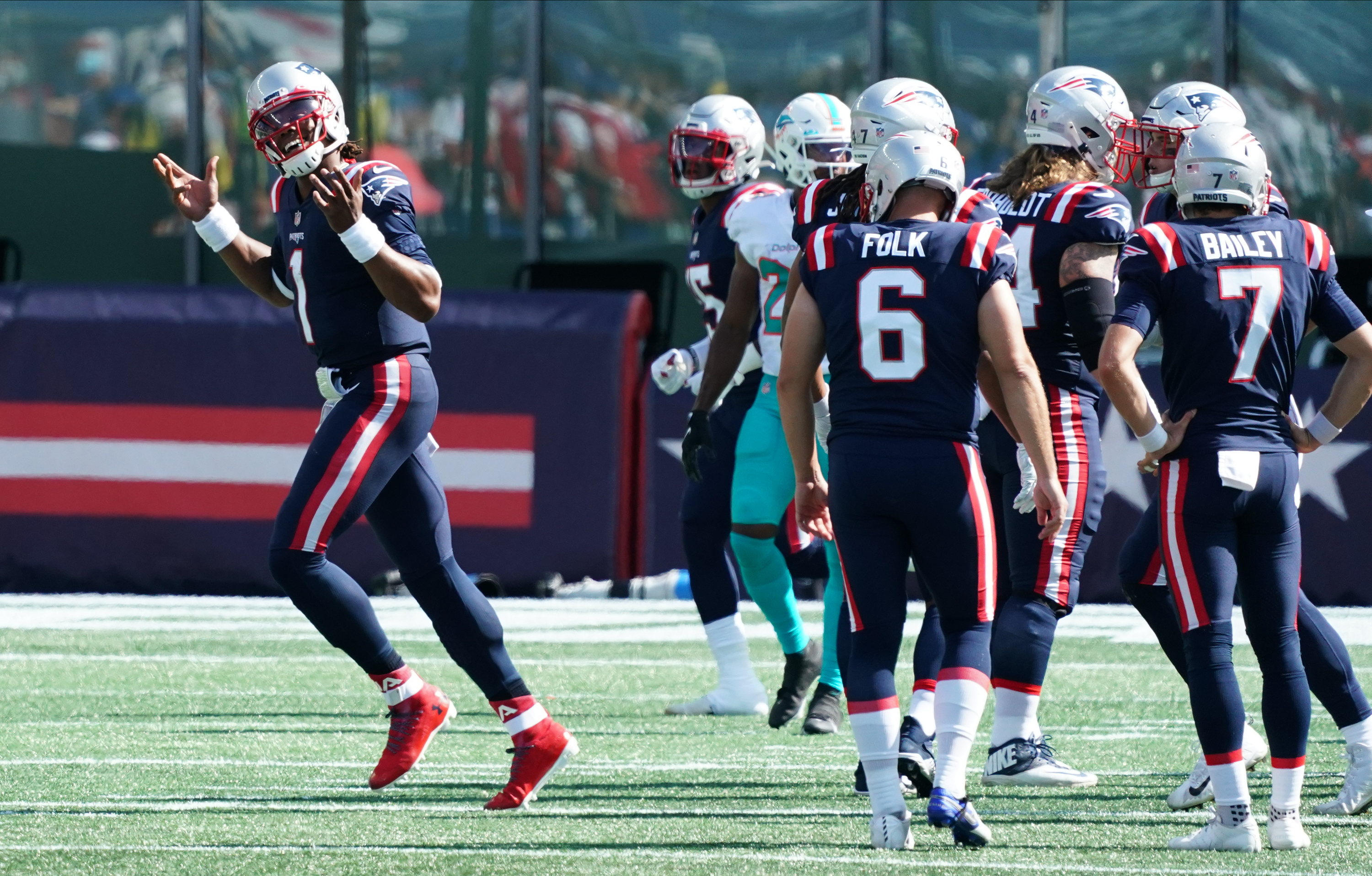 Twitter Reacts To Patriots Week 1 Victory Over Dolphins