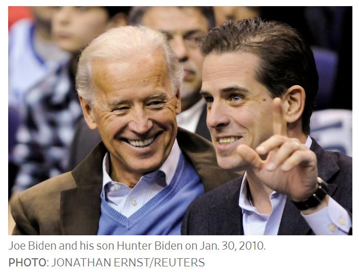 joe biden and his son