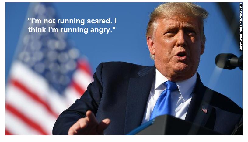Trump sai abruptamente da entrevista de 60 minutos 2