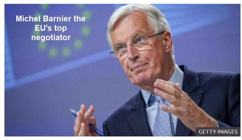 michel barnier the eus top negotiator