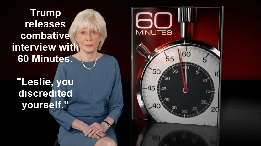 trump releases combative interview with 60 minutes 2