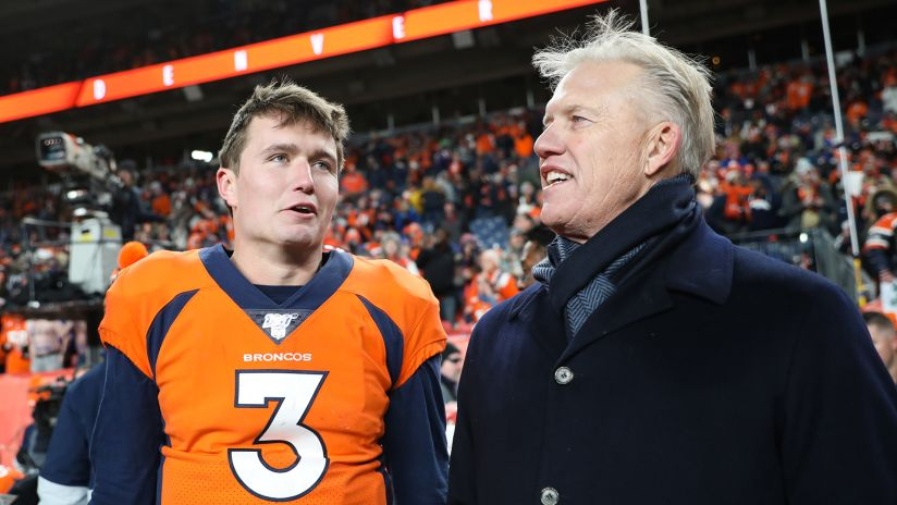 Elway's Message to Drew Lock: 'Stay Within Yourself' & 'Don't Press'