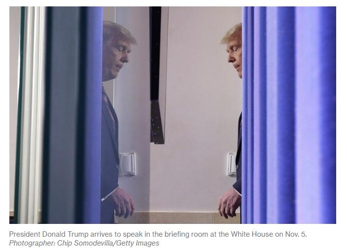 president donald trump arrives