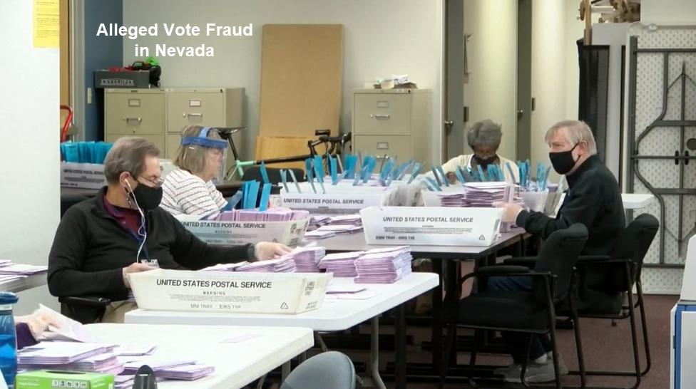 alleged vote fraud in nevada