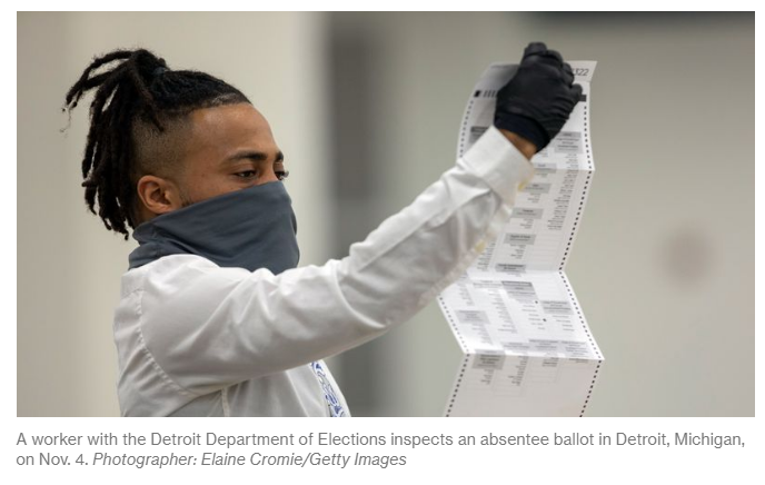 worker with detroit department of elections