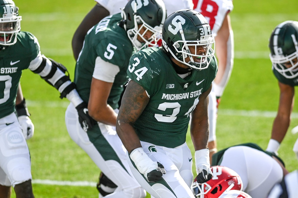 Michigan State LB Antjuan Simmons: 'We just gotta keep Playing'