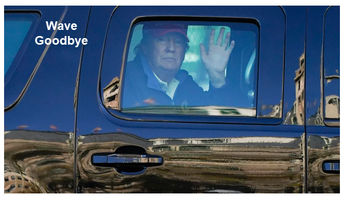 wave goodbye to trump