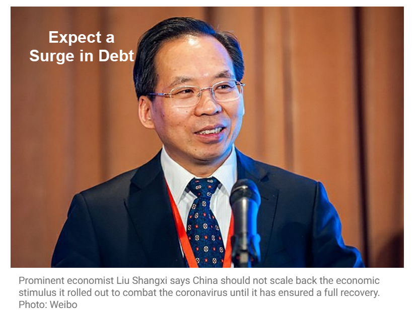 expect a surge in debt