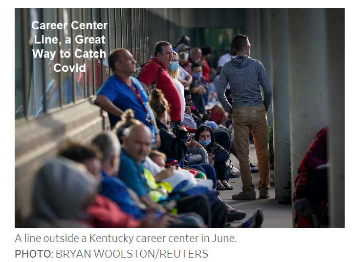 career center line a great way to catch covid
