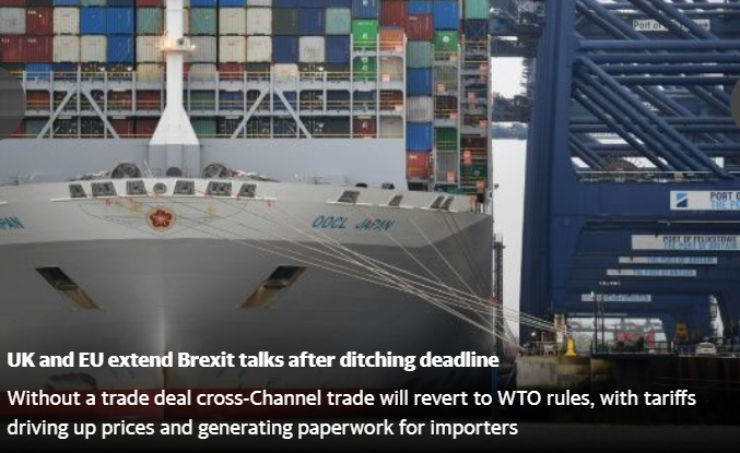uk and extend talks