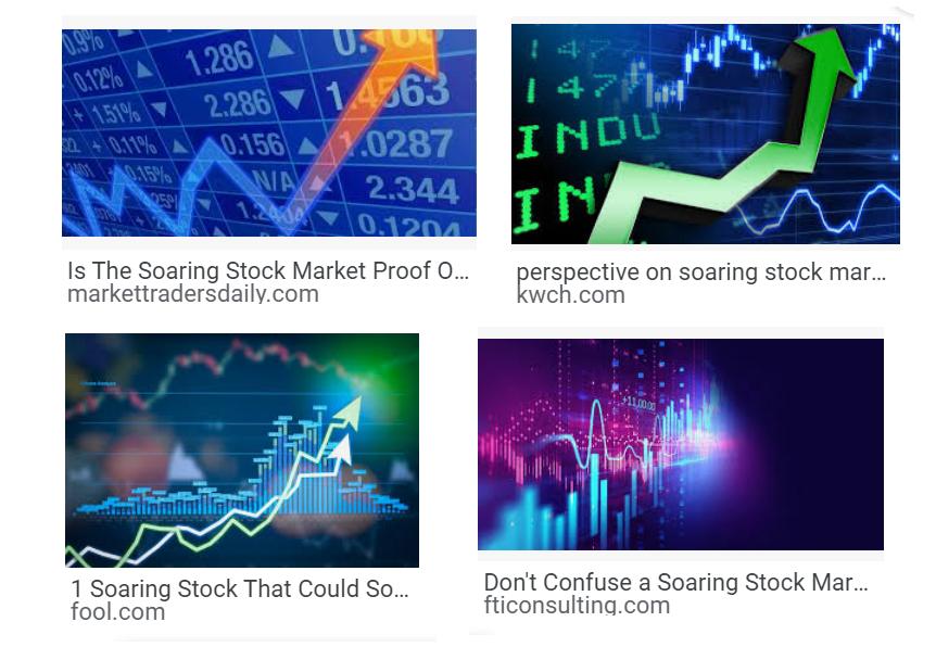 soaring stock market