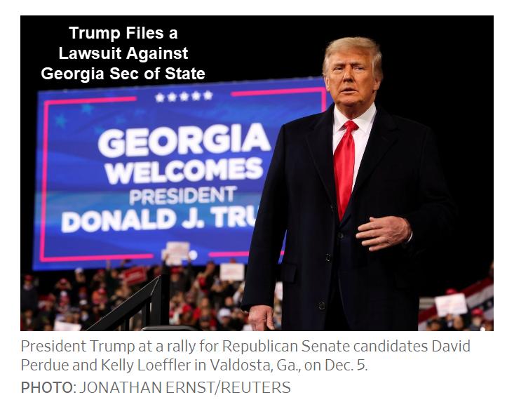 trump files a lawsuit against georgia sec of state