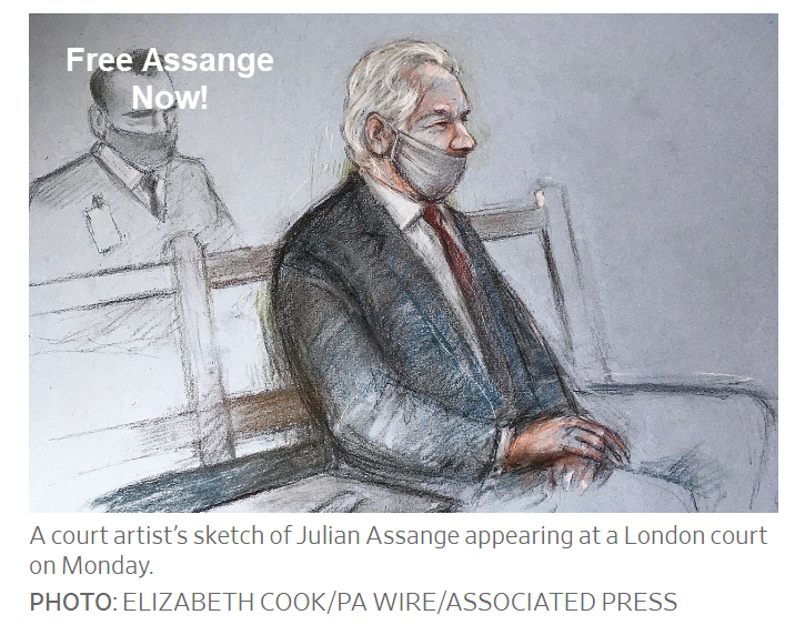 free assange now