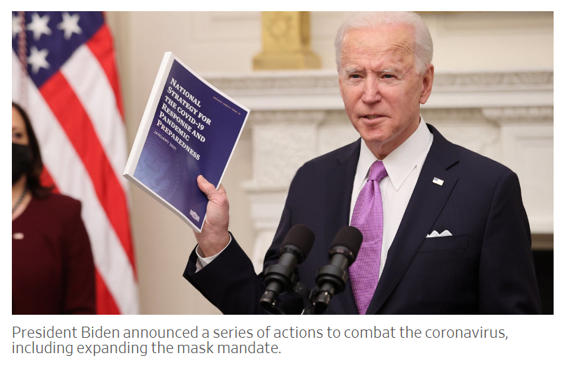 Biden Announces a 100-Day Plan to Defeat the Covid Pandemic