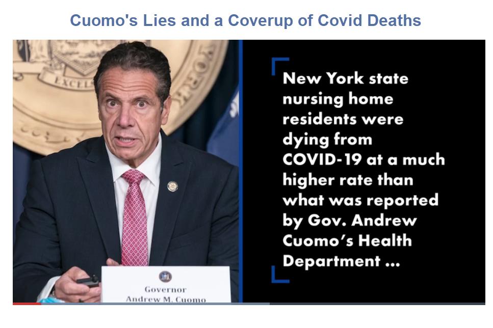 O governador de Nova York, Cuomo, deve renunciar ou ser cassado por causa do escândalo da Covid 2