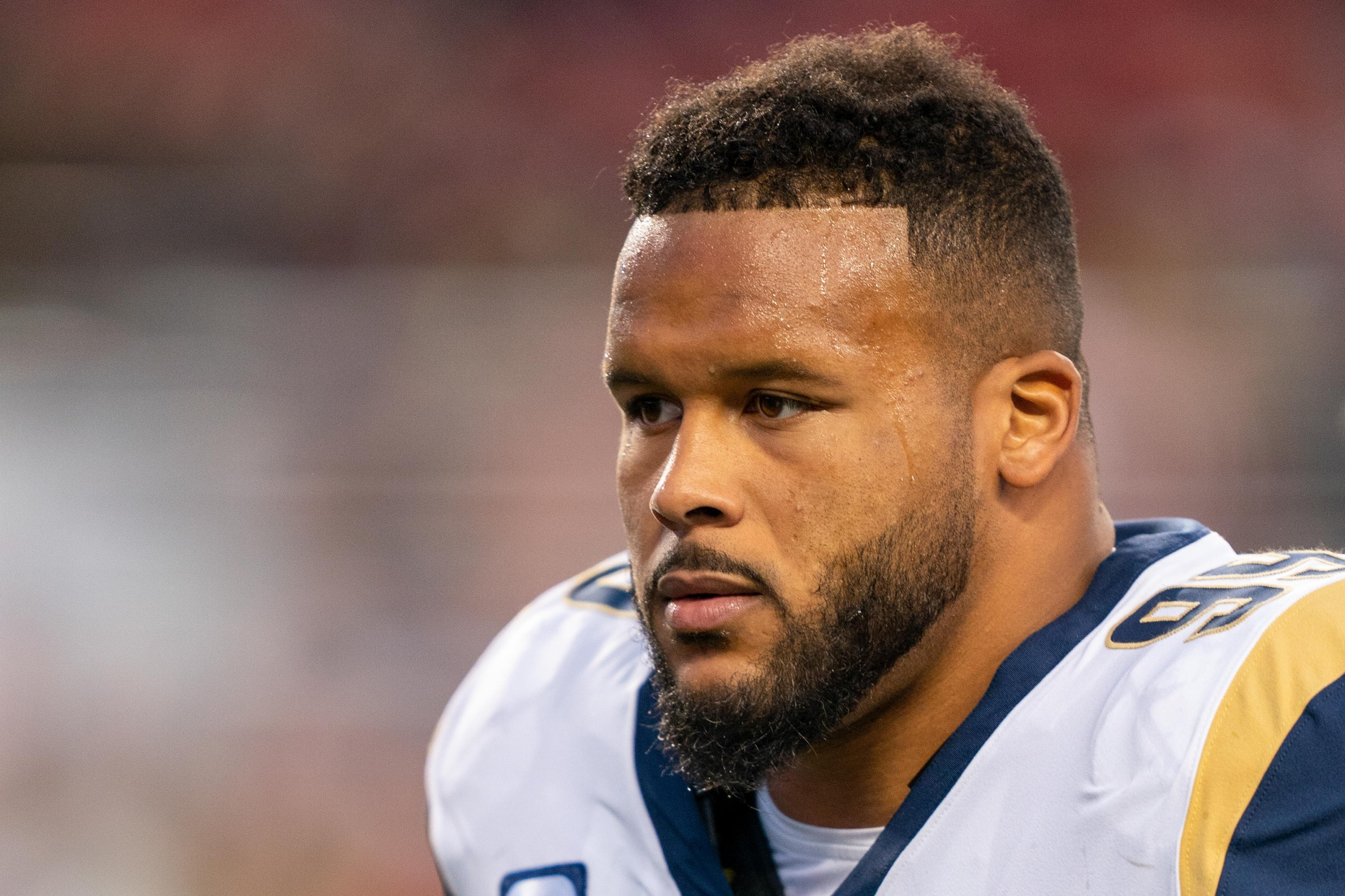 """Former GM Martin Mayhew Says Lions """"Probably Beat Dallas"""" With Aaron Donald"""