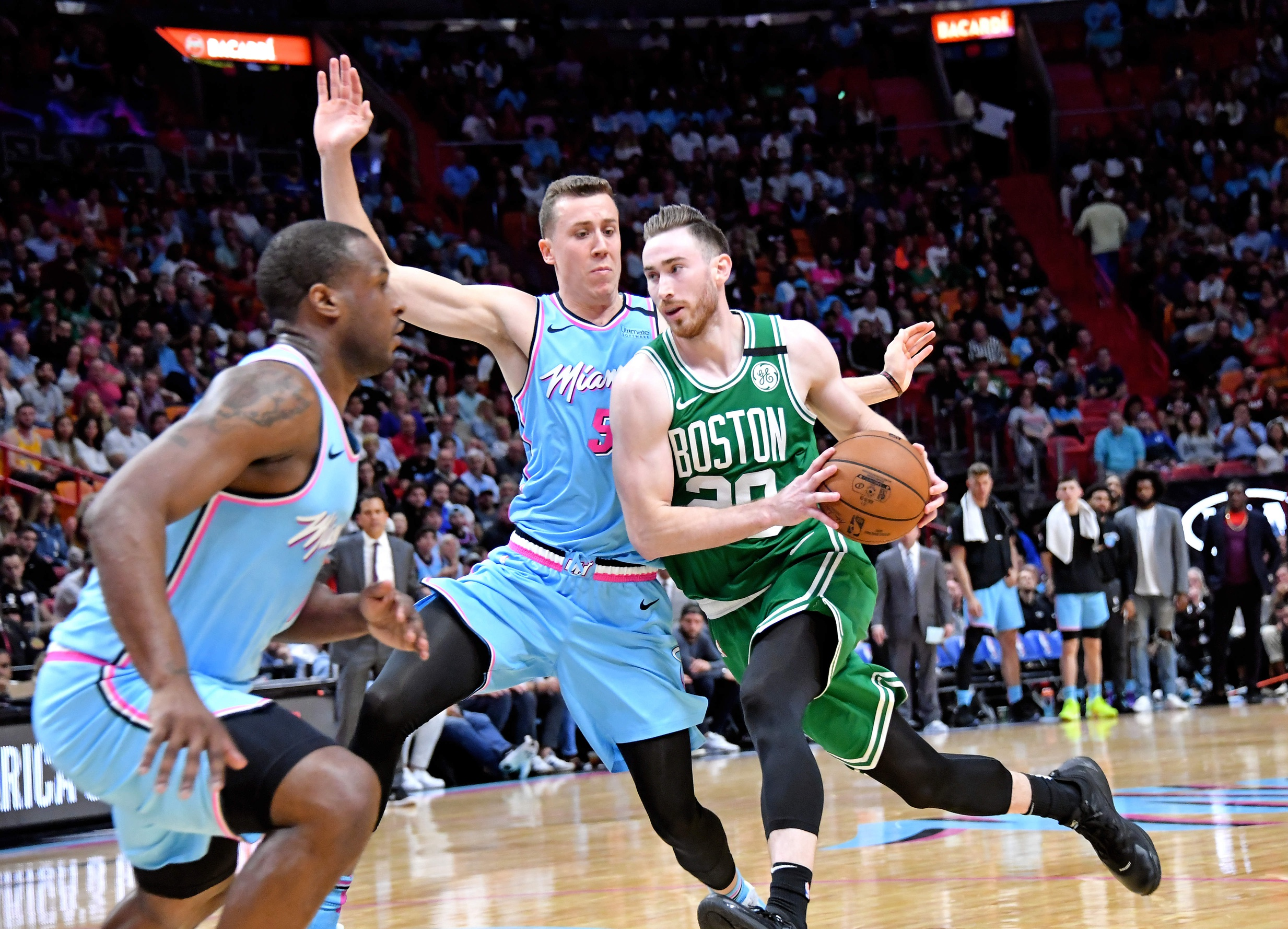 Miami Heat fall for just the third time at home in 109-101 loss to Boston