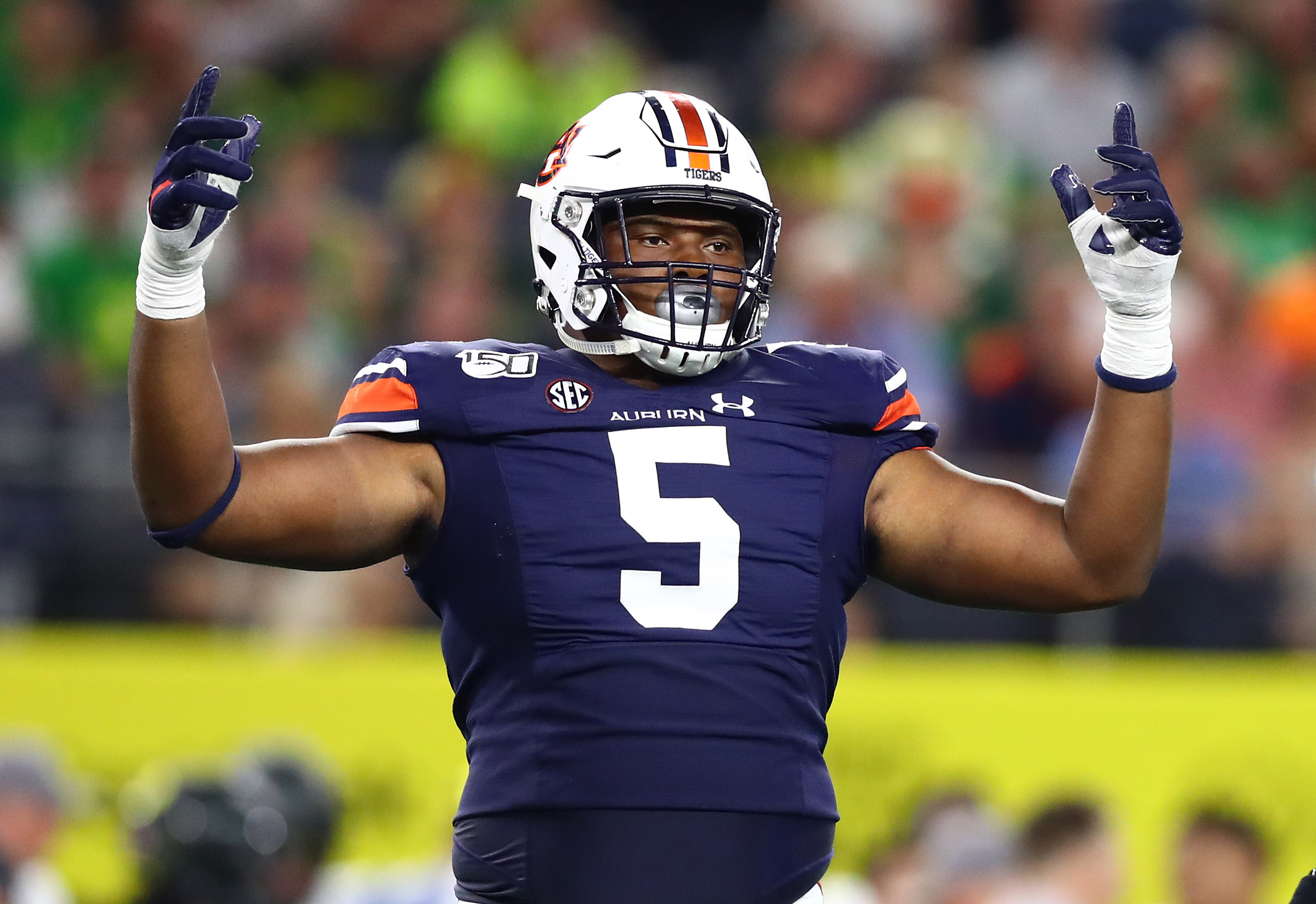 2020 NFL Draft: How Does Auburn DT Derrick Brown Make ...