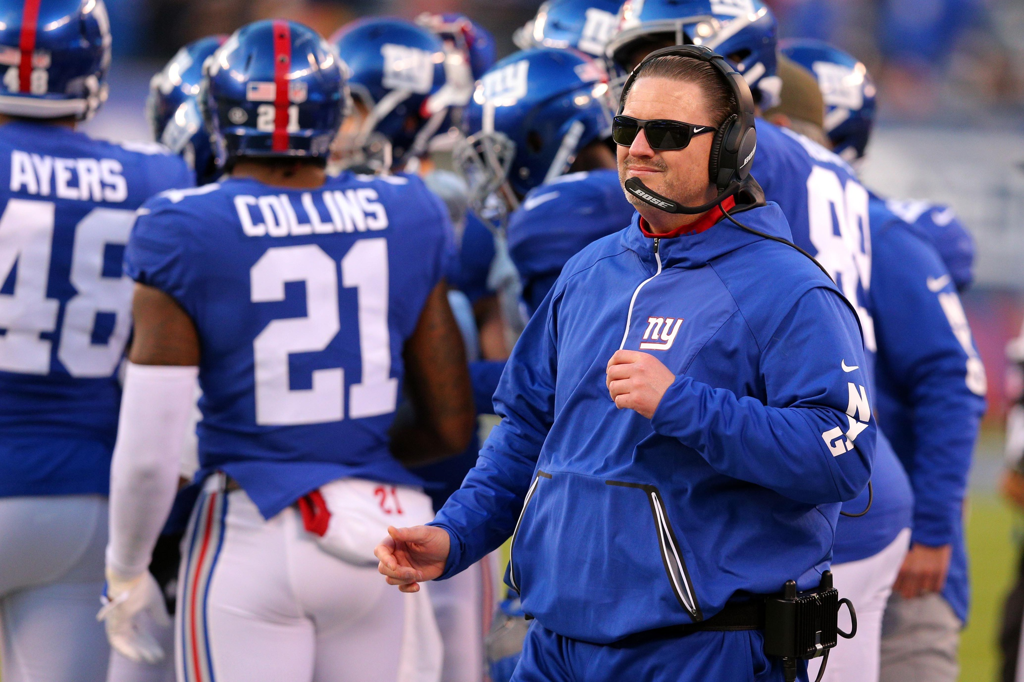 Former Giants Head Coach Ben McAdoo Hired by Jaguars