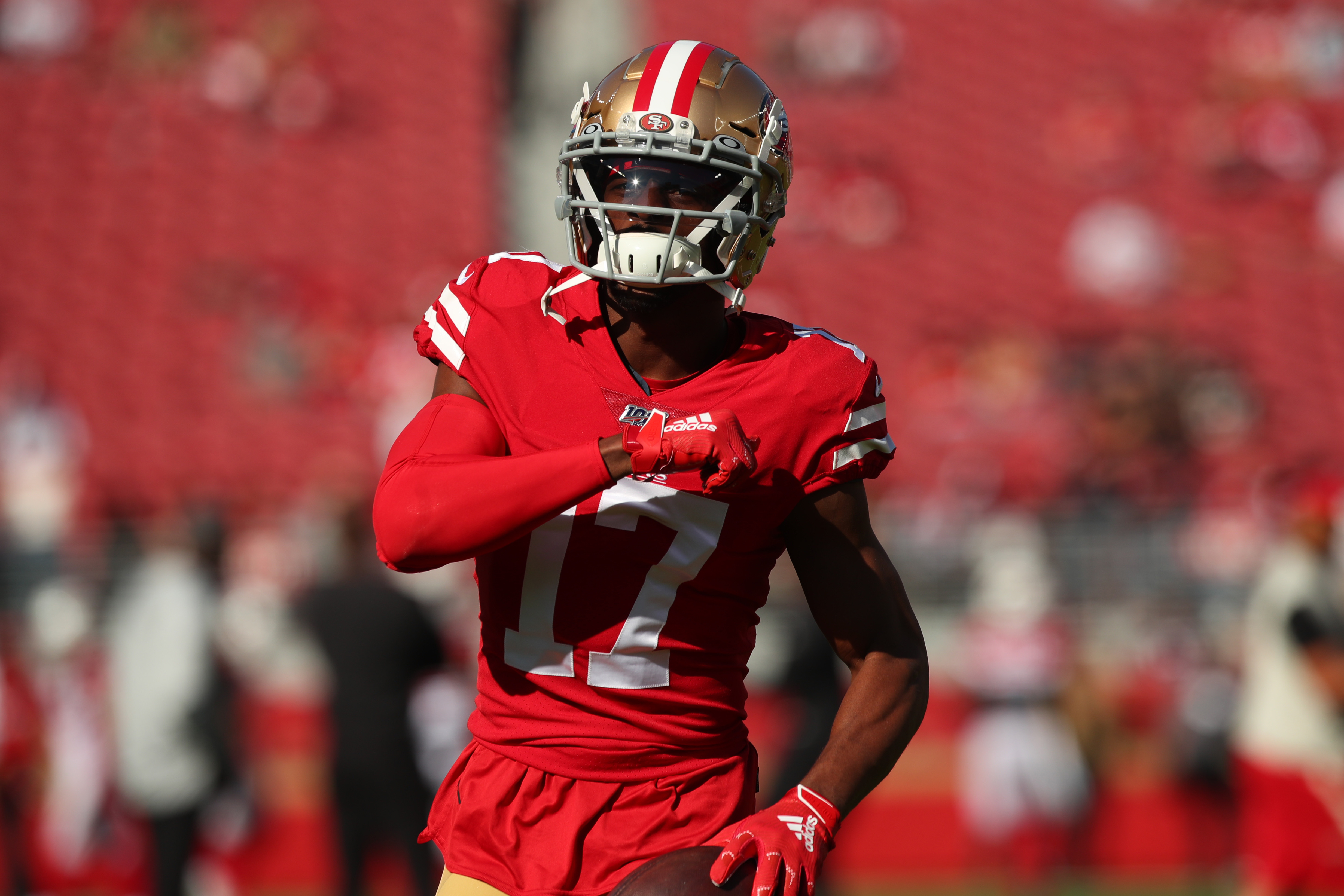 PFF Predicts Emmanuel Sanders Will Leave 49ers for Patriots