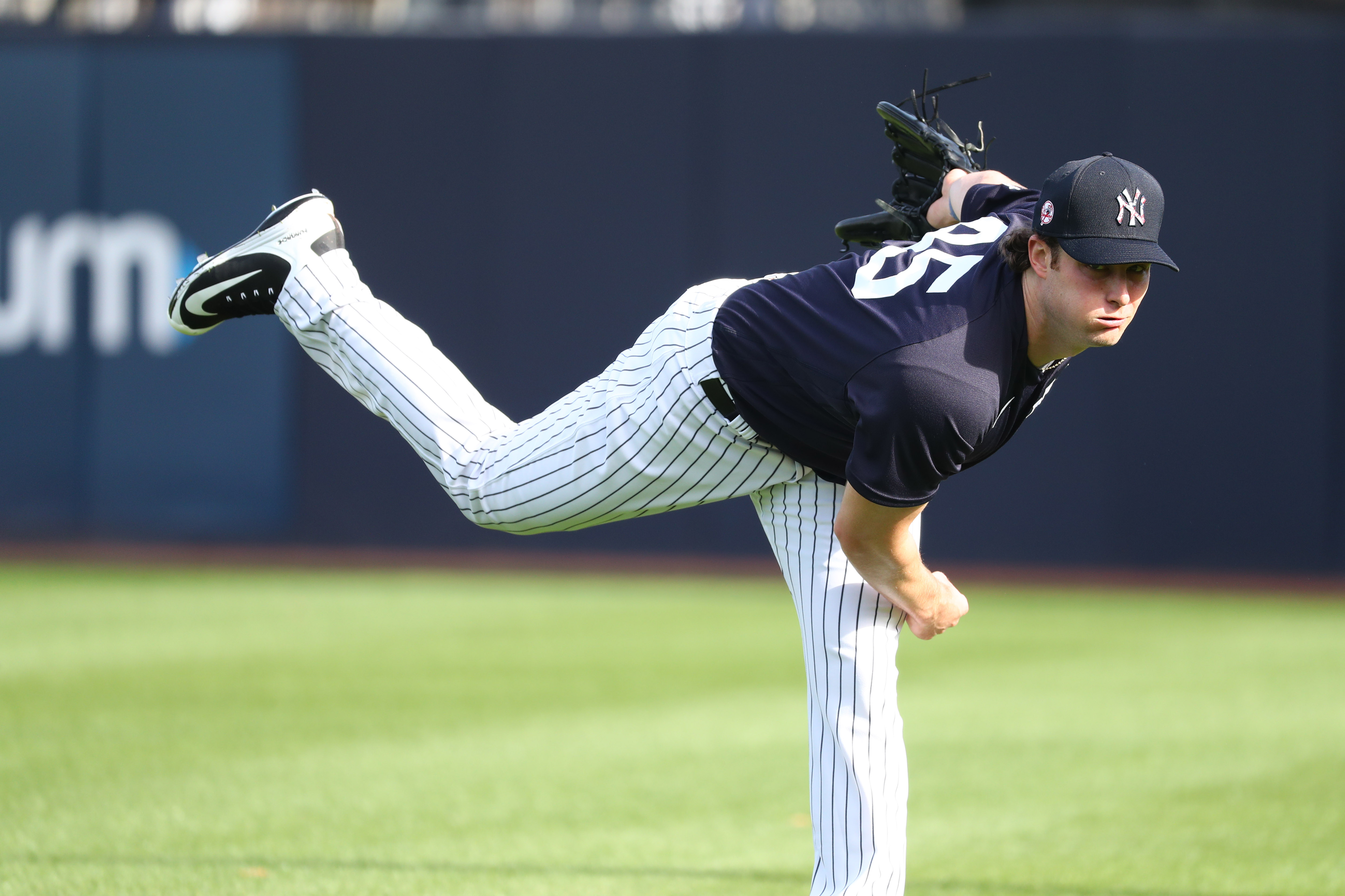 Gerrit Cole's First Day at Spring Training Reignites Conversation of the Yankees Fulfilling Championship Aspirations
