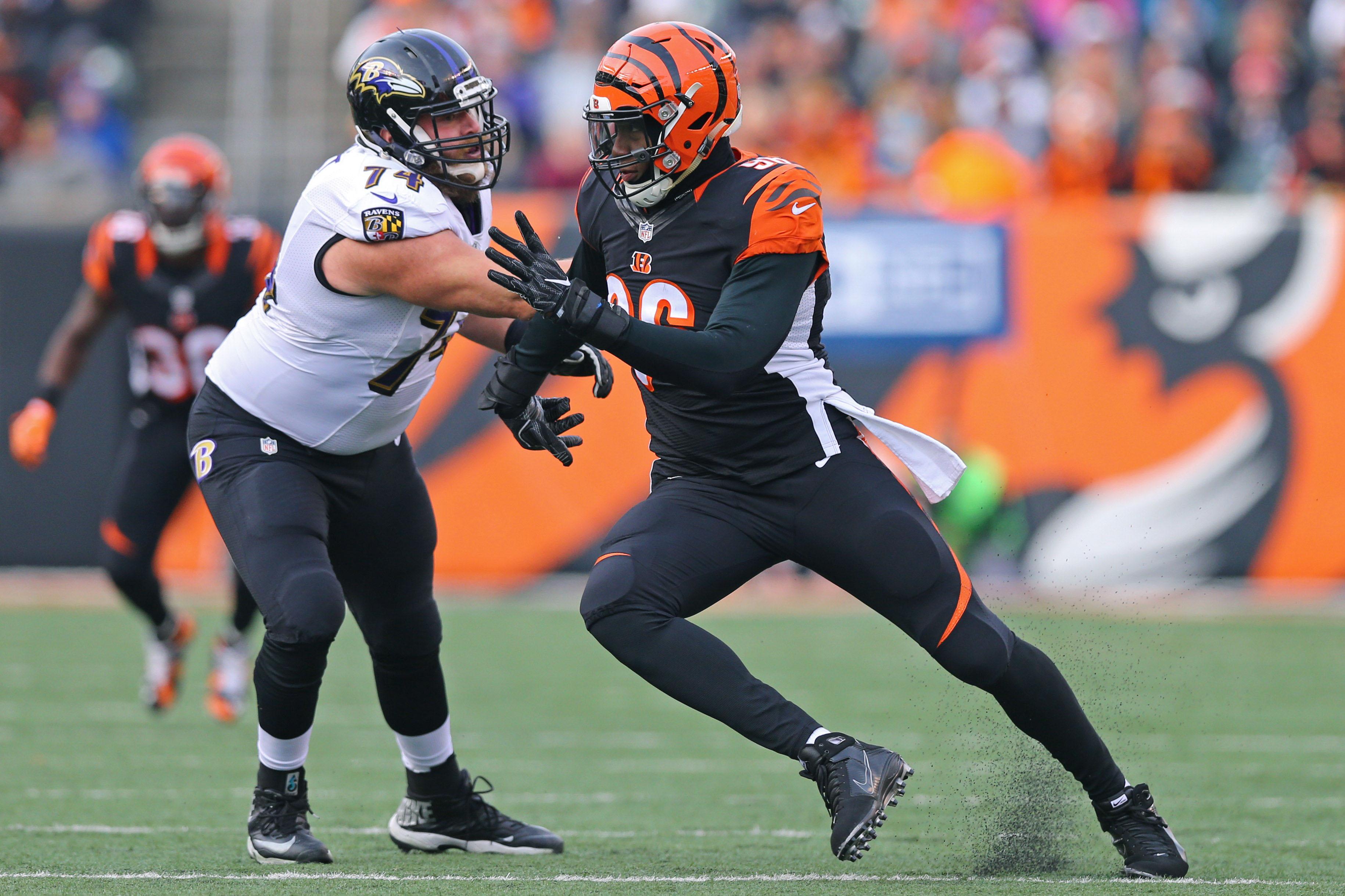 Ravens OL James Hurst Suspended Four Games for Violating NFL Drug Policy
