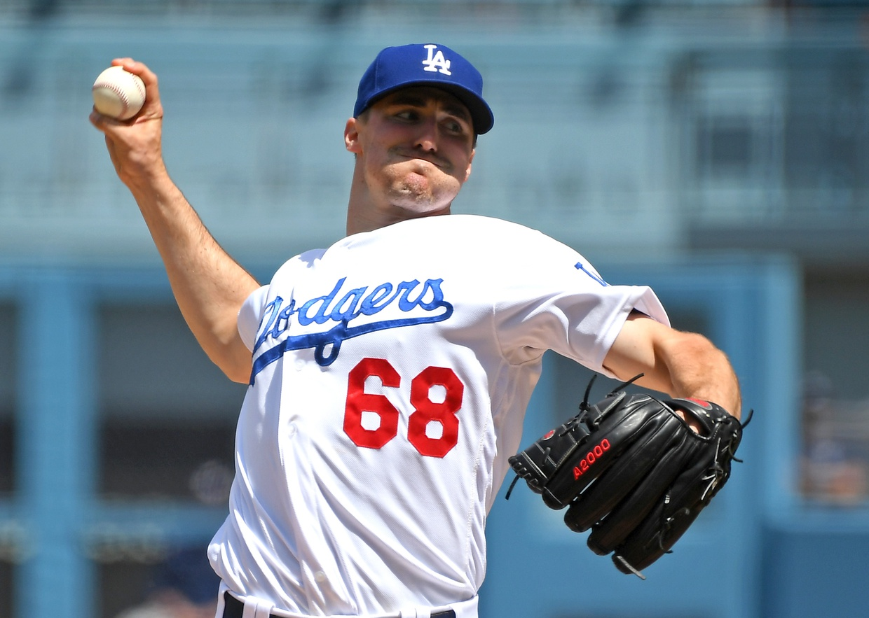 Dodgers' Pitcher Ross Stripling, Tough Guy or Old Softie?