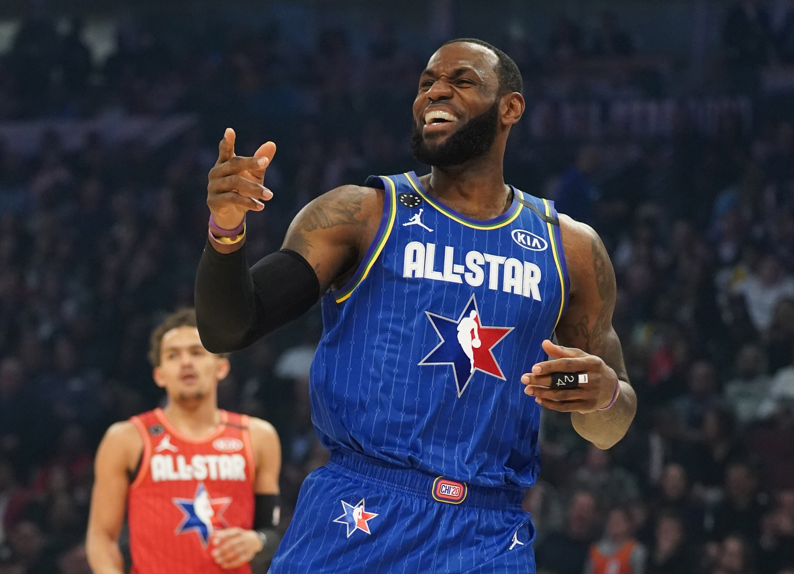 NBA All-Star Game Pays Tribute To Kobe Bryant As Team LeBron Wins