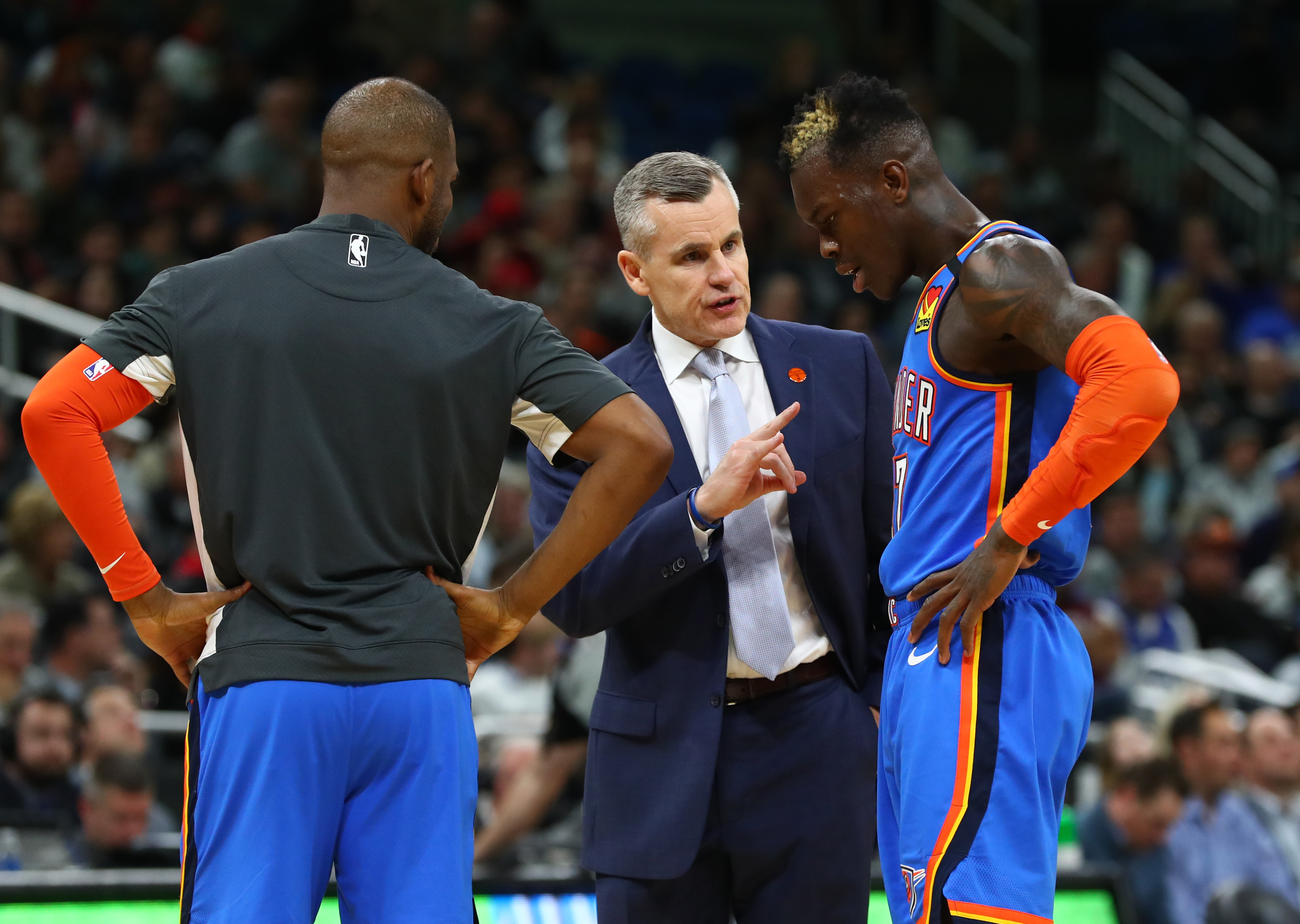 Dennis Schroder Gives Billy Donovan Credit for Getting Thunder on the Same Page