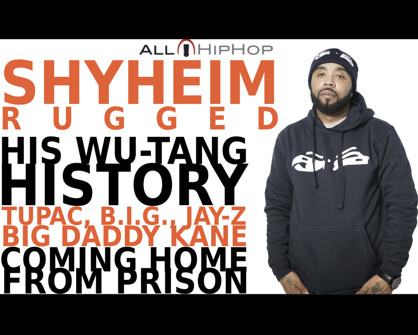 Shyheim Rugged Talks Wu-Tang Relationship, Prison Bid, Book Ambitions, & Will He Rap Again