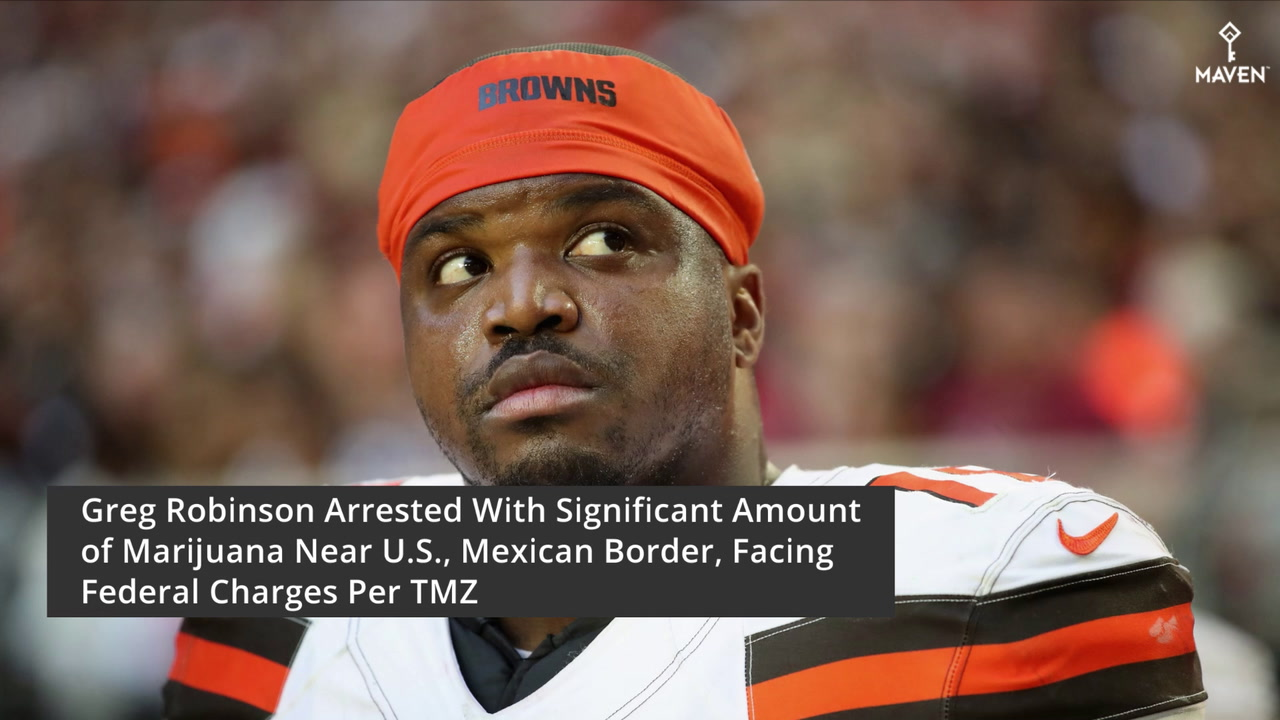 TMZ: Greg Robinson Arrested At Border Checkpoint With Substantial Amount of Marijuana