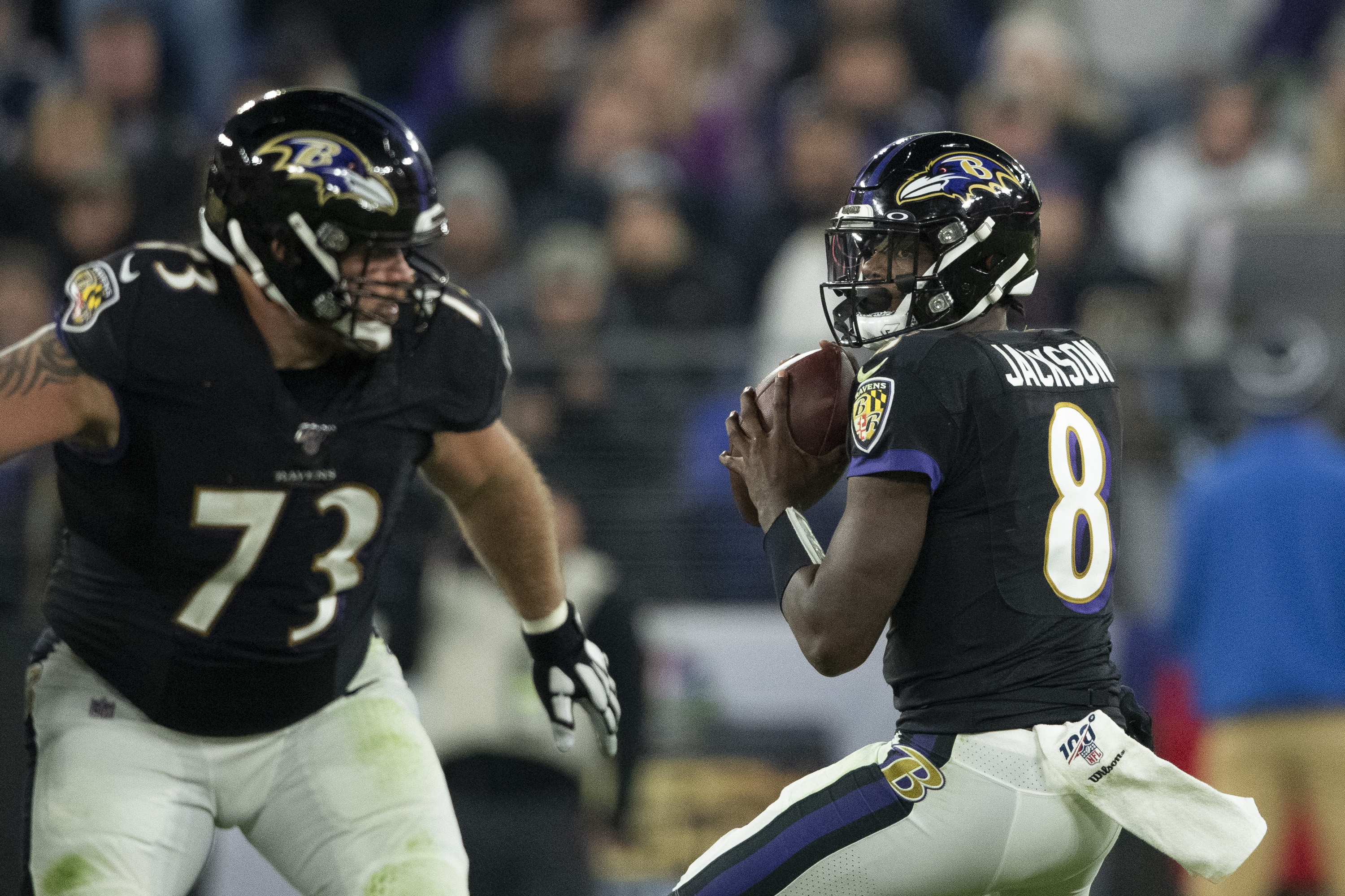 Ravens Will Closely Monitor O-Line Dynamic