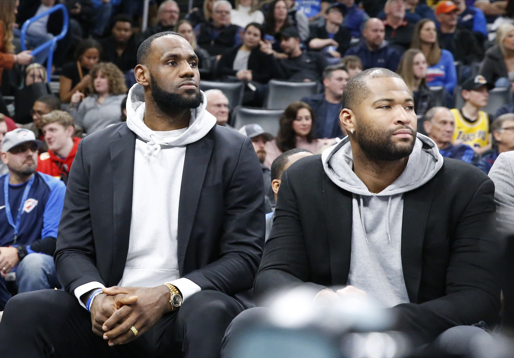 Lakers Officially Sign Markieff Morris And Waive DeMarcus Cousins