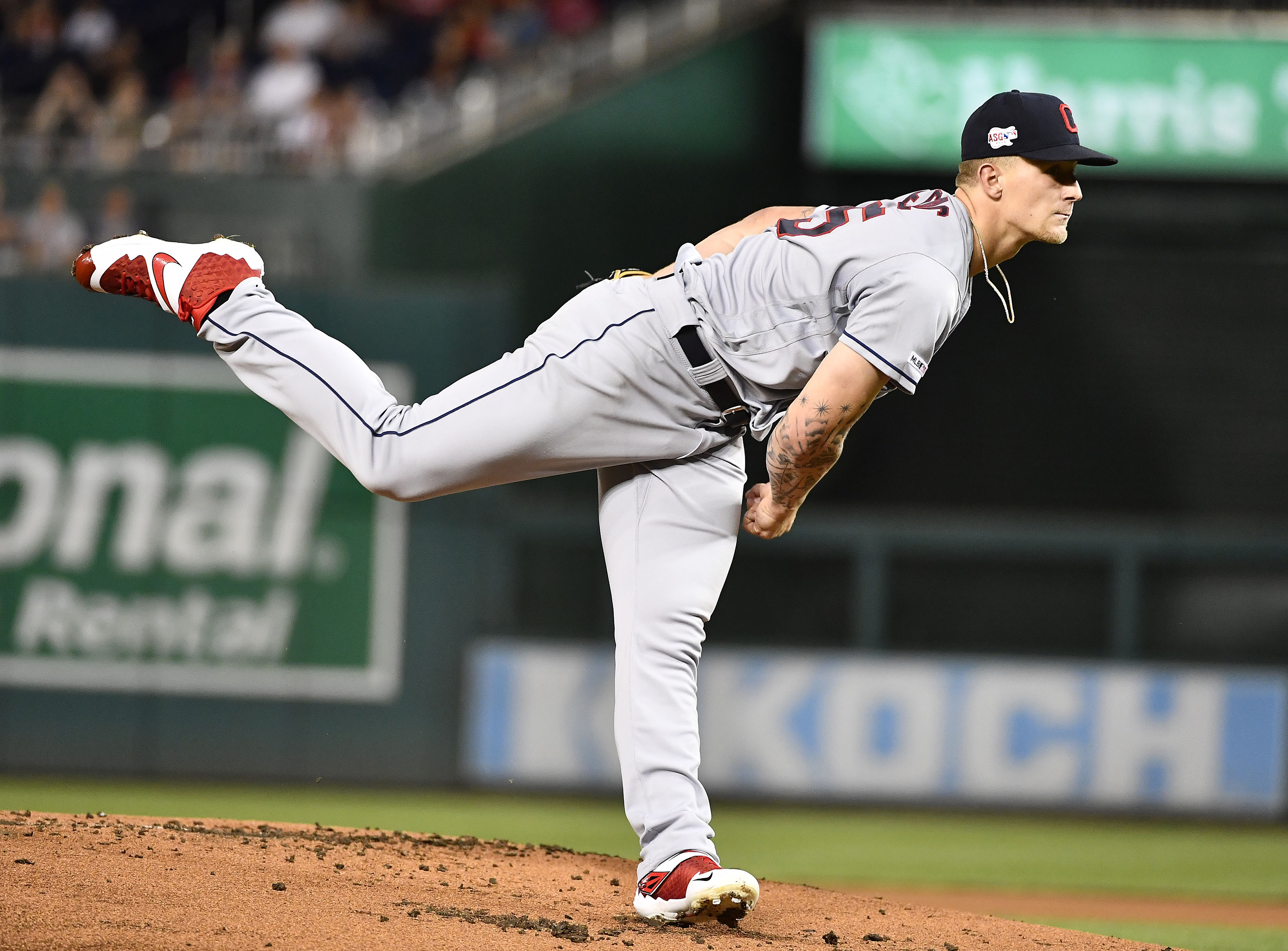 Indians Announce Starting Pitchers for First Three Spring Training Games