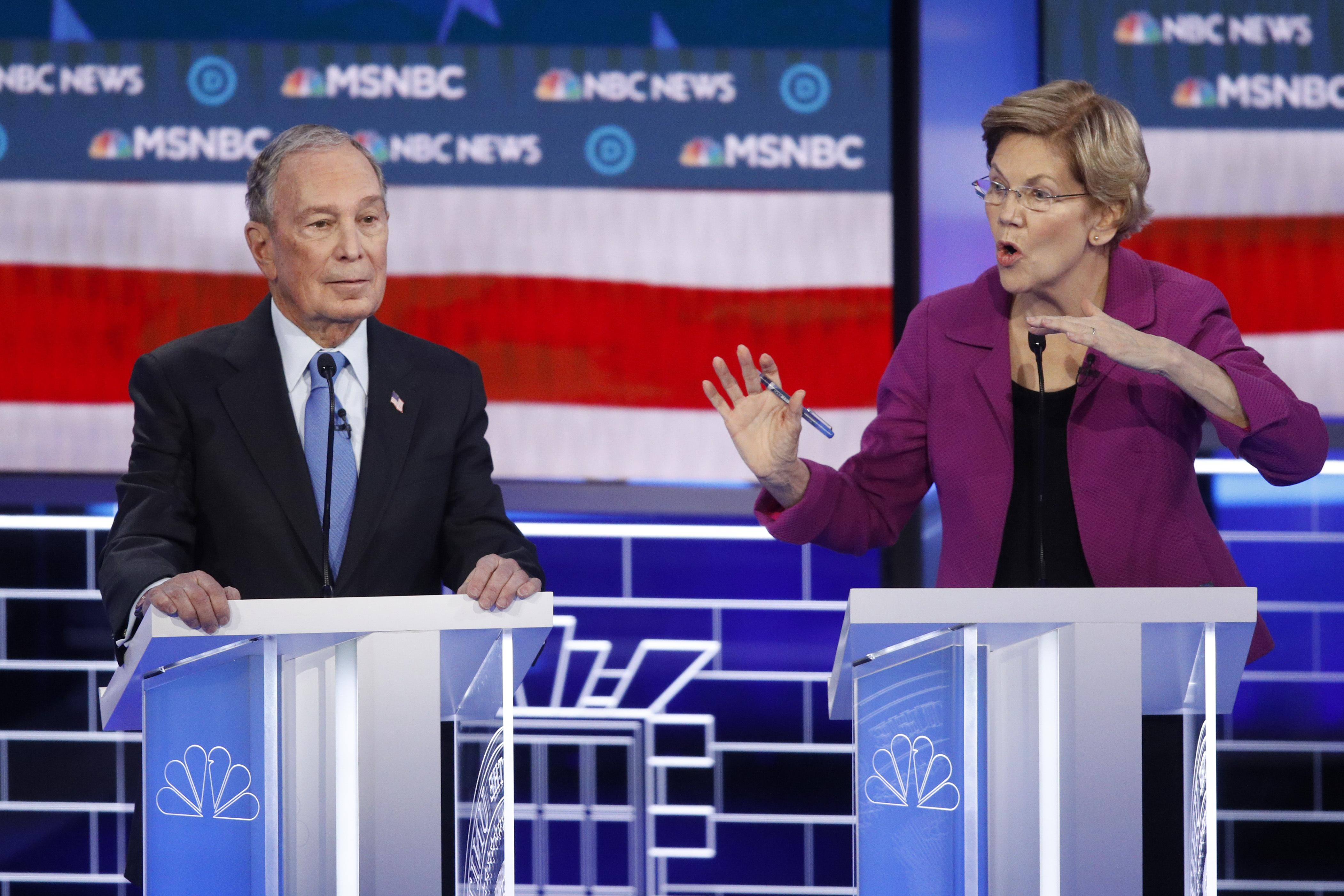 Bare knuckle Democratic debate