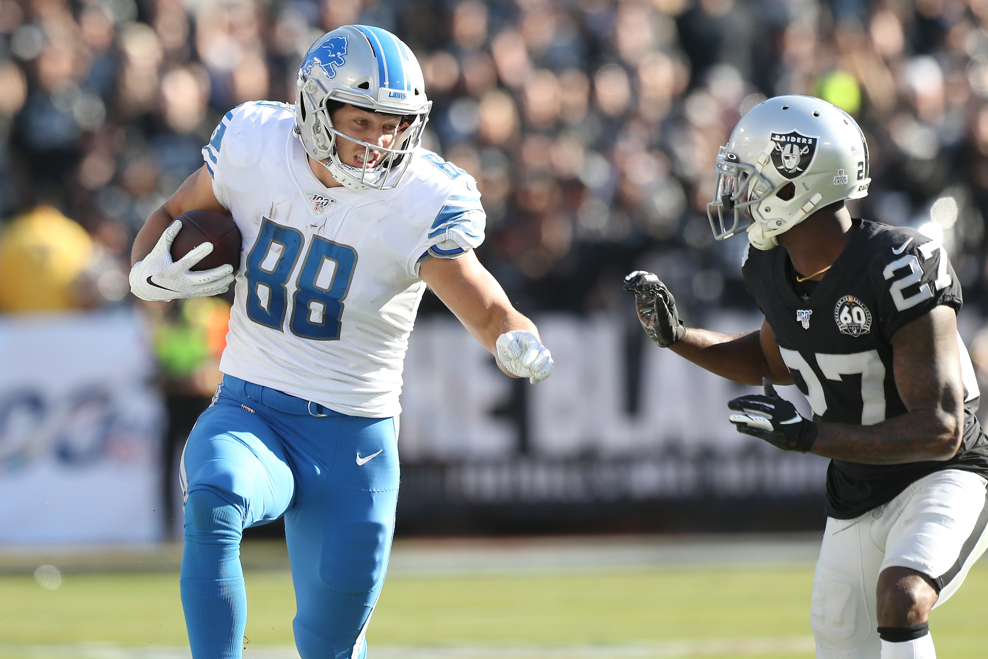 Lions Must Get TE T.J. Hockenson More Involved in 2020