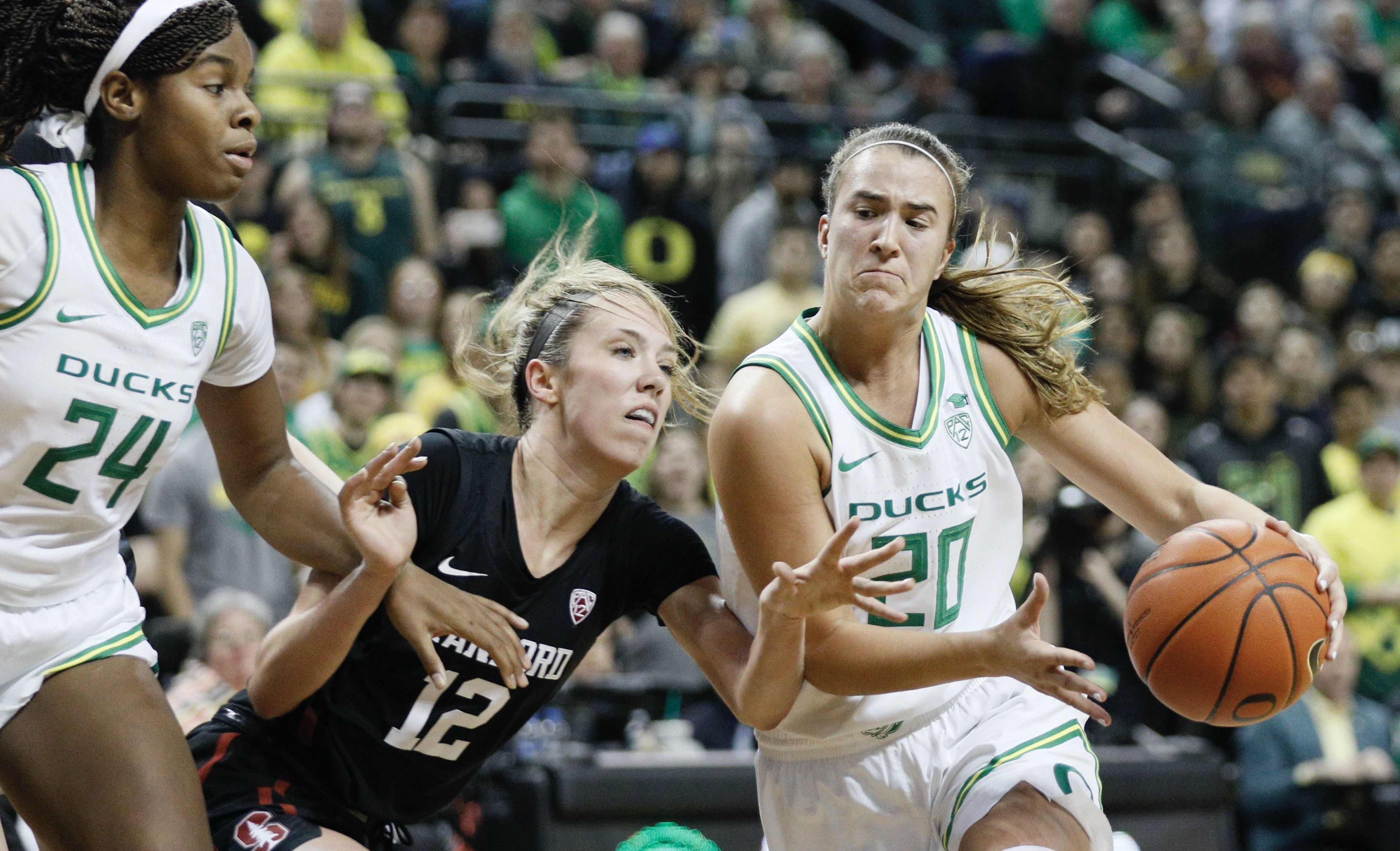 Point guard Sabrina Ionescu leads No. 3 Oregon against Cal on Friday night