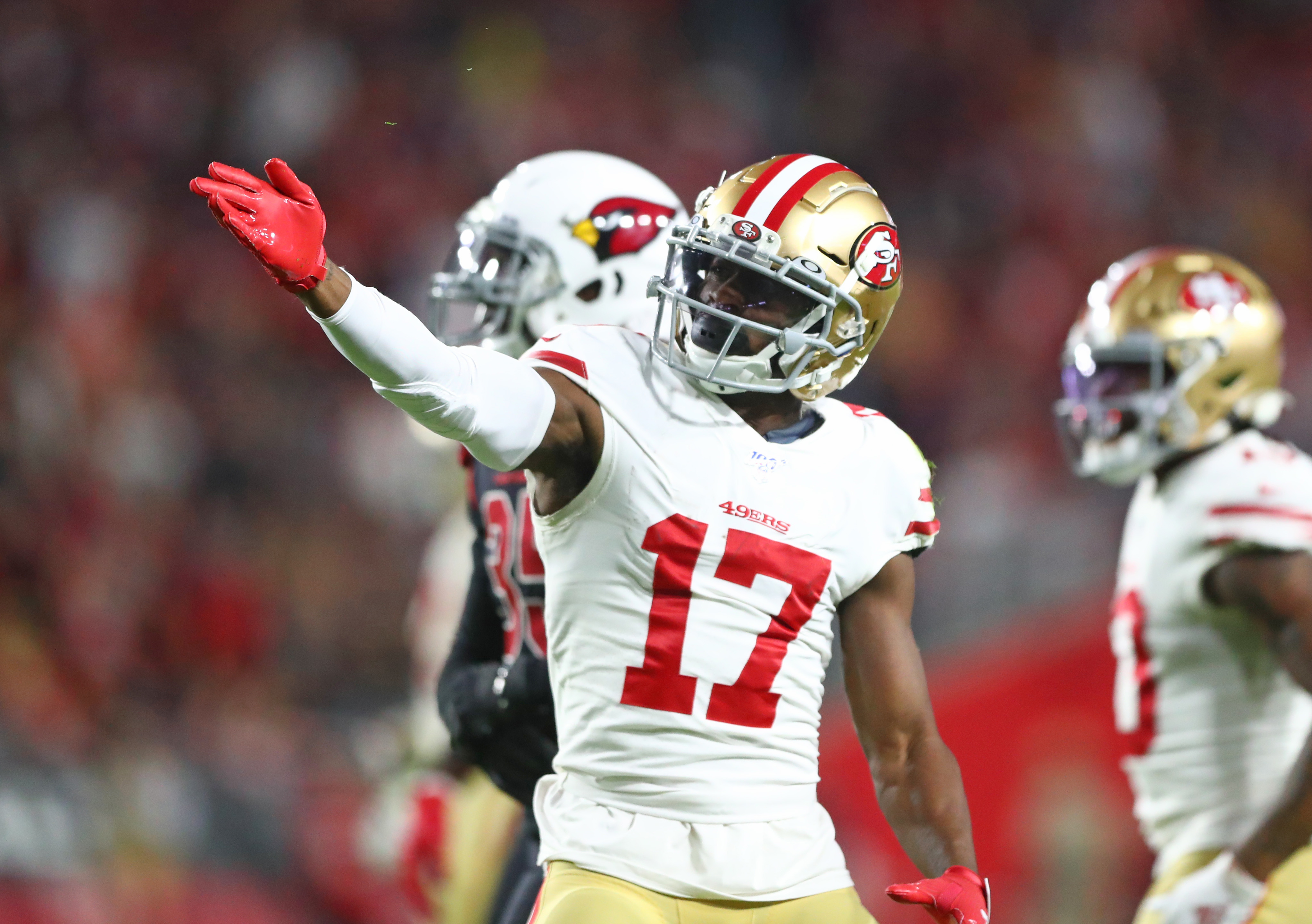 What Should the 49ers do with Pending Free Agent Emmanuel Sanders?