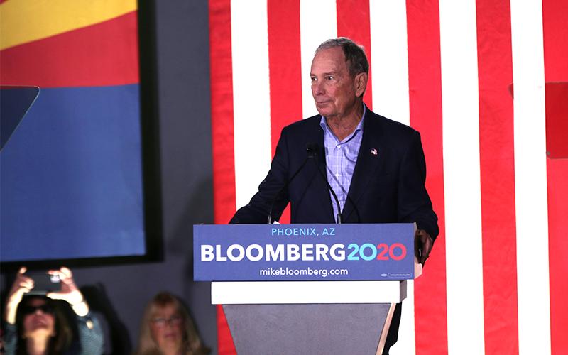 'Horse feathers!' Defending Michael Bloomberg in Arizona