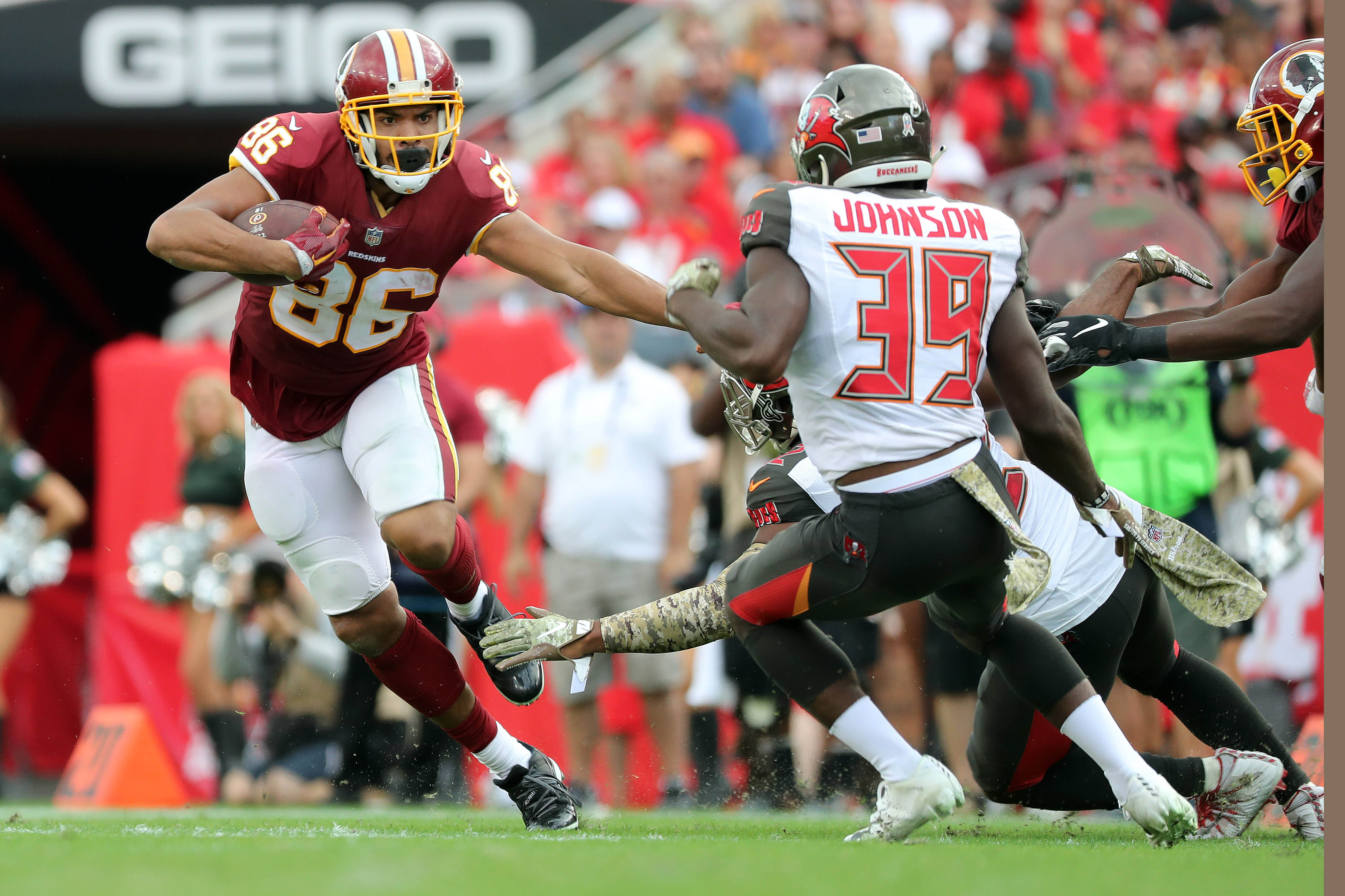 Should the Jaguars Consider Adding Jordan Reed to Replenish the Tight End Room?