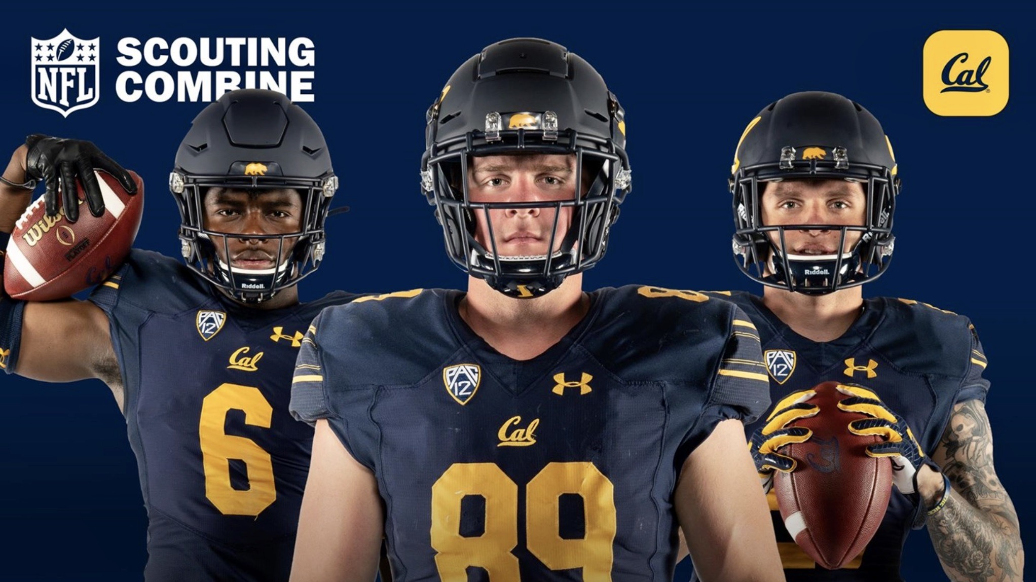 Cal trio set to participate in NFL Scouting Combine