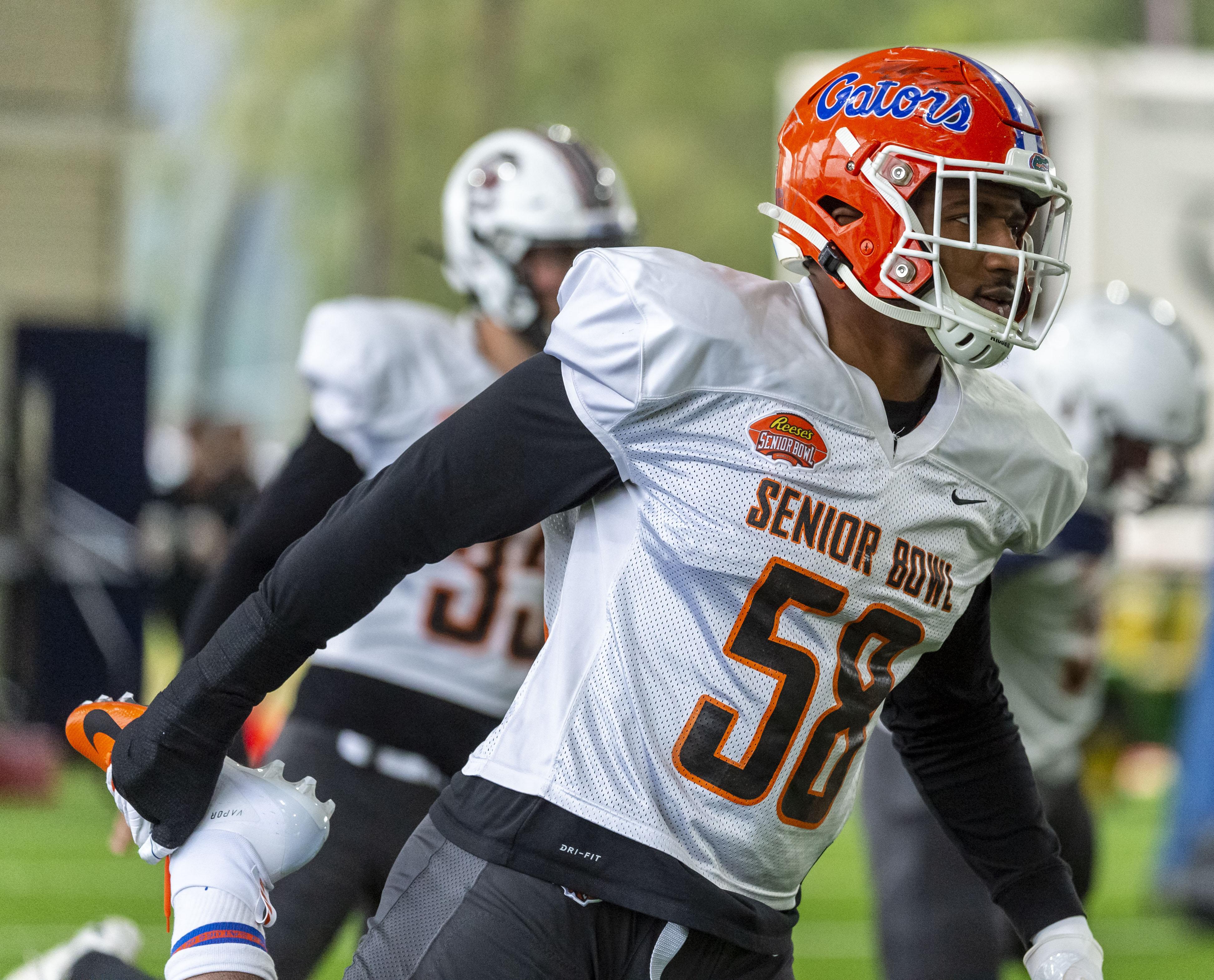 Florida Gators Pre-NFL Combine Seven Round Mock Draft